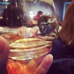 10h du matin, François Chartier nous fait boire du rhum - je suis charmée!