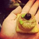 Bouchée de foie gras farcie à l'aronia de Jean-Luc Boulay