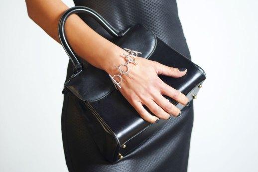 Bracelet en argent collection Axone