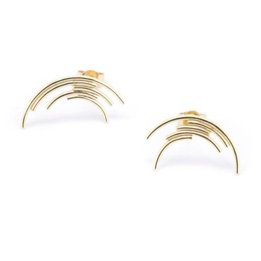Boucles d'oreilles en or collection Perspective