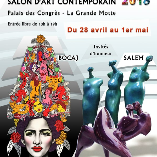 Salon Art contemporain : Pyramid'Arts Palais des Congrés La Grande Motte