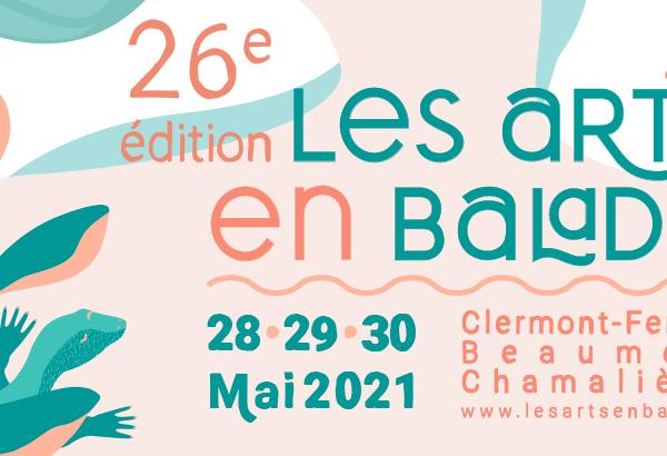 """Exposition """"Les arts en balade"""" à Clermont-Ferrand"""