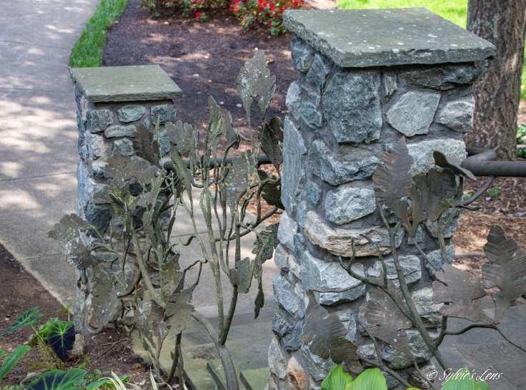 Oak Leaf Handrail - By Jim Galluci