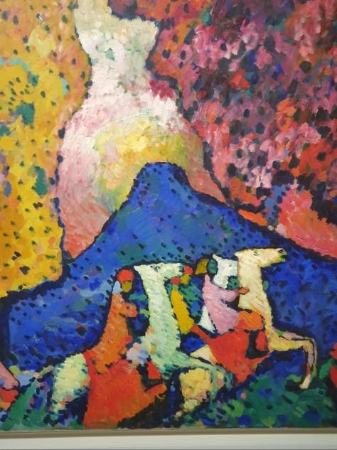 Kandinsky La montagne bleue 2019 Exposition Hôtel de Caumont Guggenheim