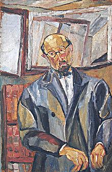 Charles Vildrac portrait par J. Bournet