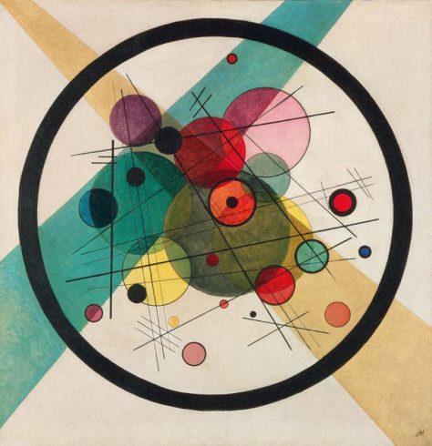 Vassily Kandinsky Cercles dans le cercle 1923