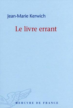 Jean-Marie Kerwich le livre errant