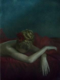 Divine #5 (2013) Technique mixte, numérique et Polaroid. LiLiROZE. Courtoisie Galerie Carole Decombe