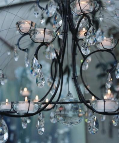 Détail d'un lustre de Nathalie Seiller Dejean