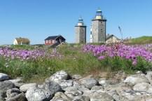 Nidingen fick två fyrar för att ön inte skulle förväxlas med Skagen.