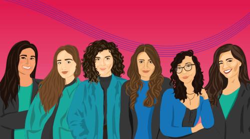 illustration of Symba founding team