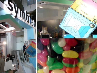 Symbian stand construction collage