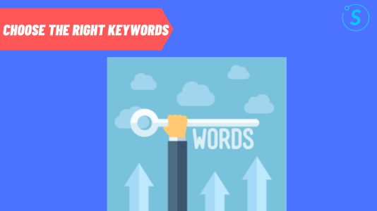 Choose the right keywords for PPC marketing