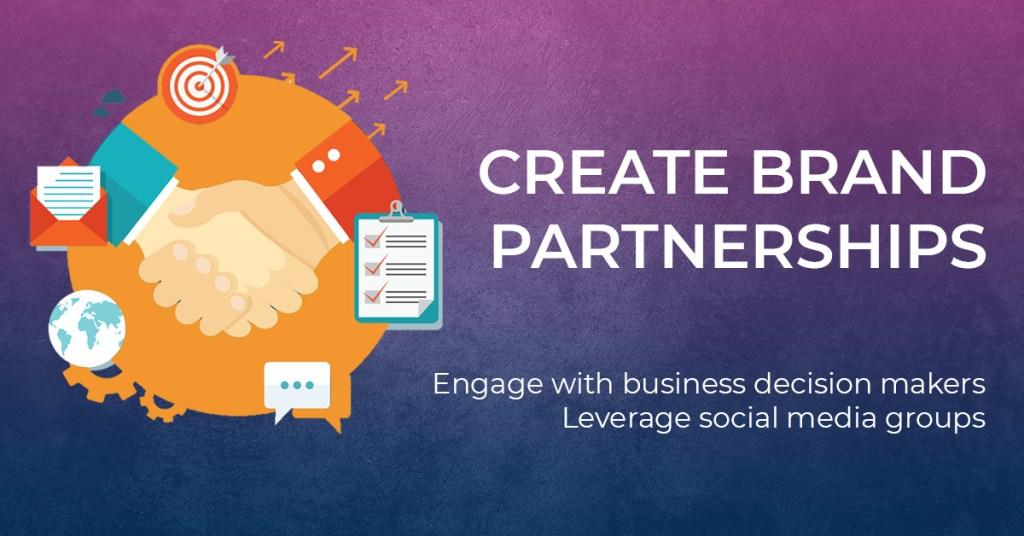 To Create Brand Partnerships