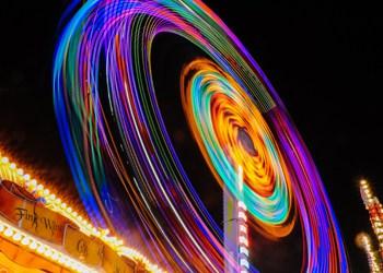 roller coaster at night - new digital transformation