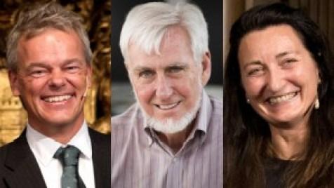 Edvard Moser, John O'Keefe et May-Britt Moser, lauréats du Prix Nobel de Physiologie et Médecine 2014