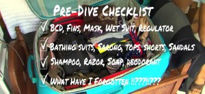 Pre Dive Checklist blog, Symbiosis Diving