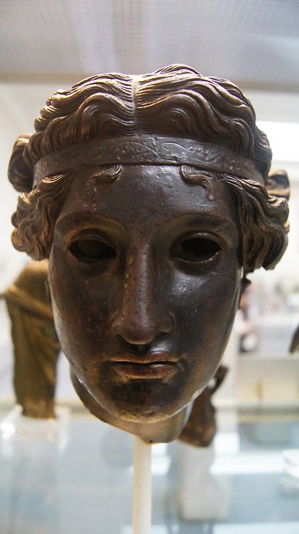Bronze head of Dionysus, British Museum