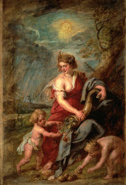 Rubens Abundance with Cornucopia