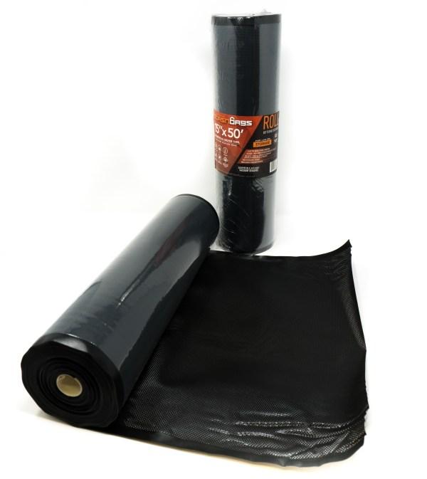 Stashbags 15x50 Black Clear Roll