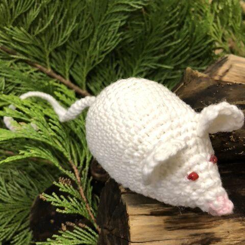 Hæklet mus