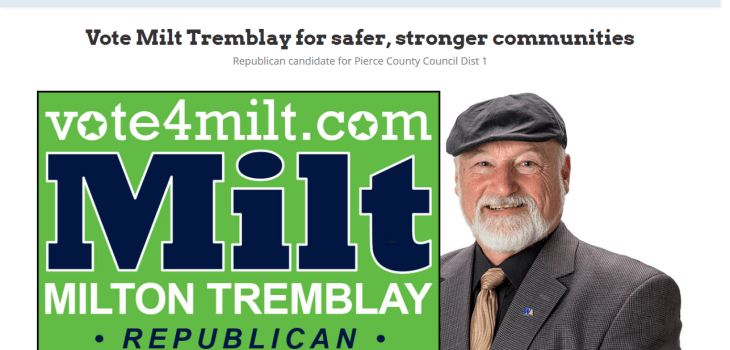 screenshot of vote4milt.com