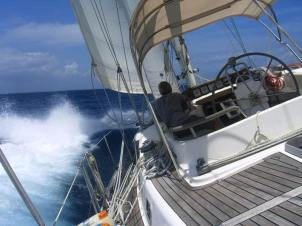 We have a great sail north for our unscheduled 7-day stop in Salvador for repairs