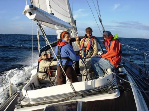 A cracking good sail