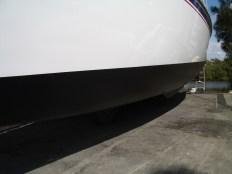 Yacht last antifoul: February 2015