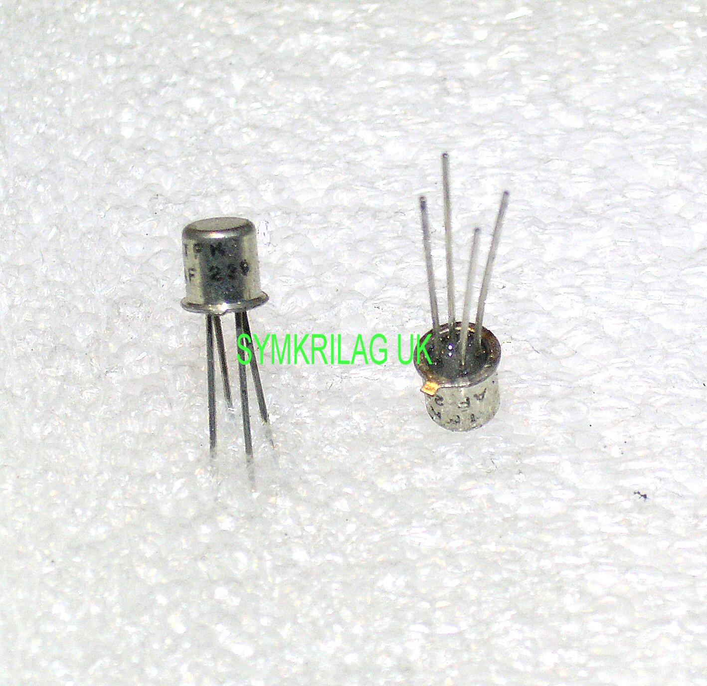 Af239 Tfk Pnp Germanium 900mhz Transistor To 72