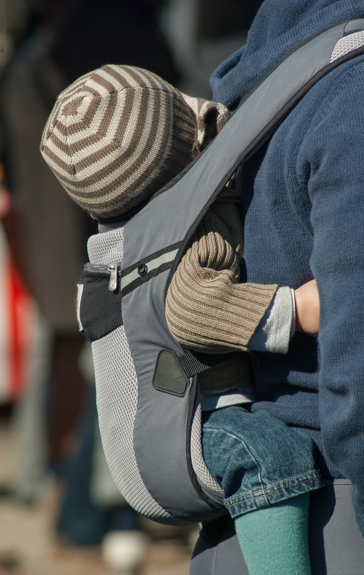 Baby is a carrier