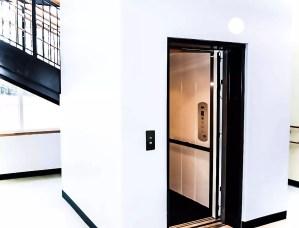 Symmetry elevator in school application