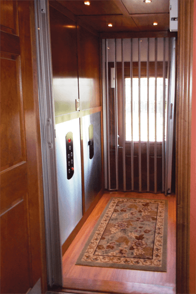 Symmetry Home Elevator installed by Arrow Lift