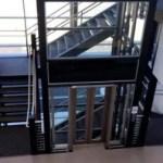 Aerial View of Symmetry Custom Glass LU/LA Elevator