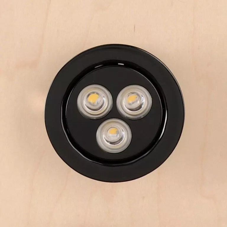 Recessed LED Home Elevator Light Black