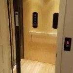 Flat panel Symmetry Residential Elevator