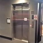 Symmetry LU/LA Elevator closed 2 Speed Doors