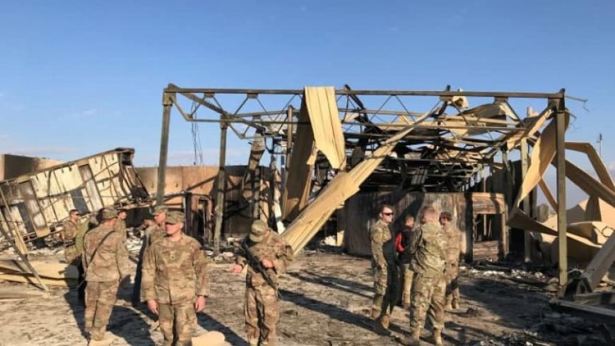 العراق.. وفاة أميركي في هجوم عين الأسد ومسؤولون: يحمل بصمة إيران