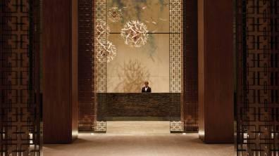 Four Seasons Hotel Lobby at Toronto