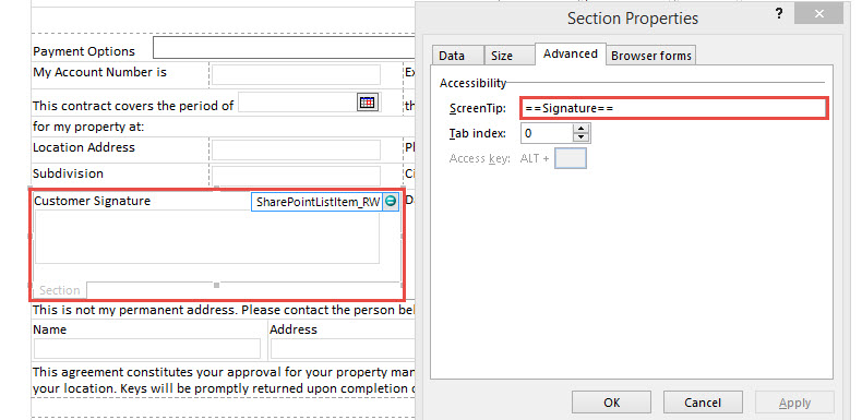 Using the Signature Pad jQuery Plugin with SharePoint & InfoPath
