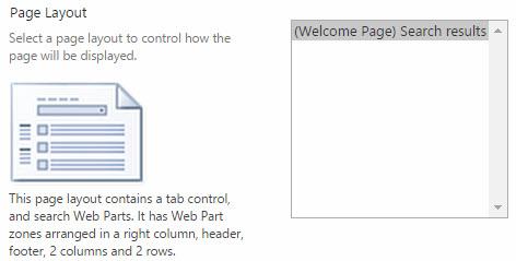 Choose Page Layout