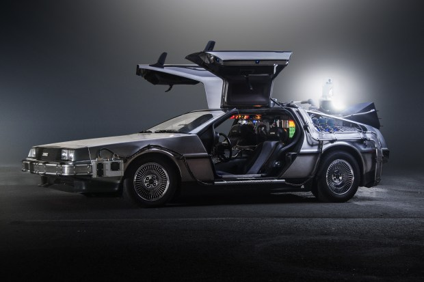 Paul Nigh's 'TeamTimeCar.com' Back to the Future DeLorean Time Machine - Image source: https://en.wikipedia.org/wiki/DeLorean_time_machine
