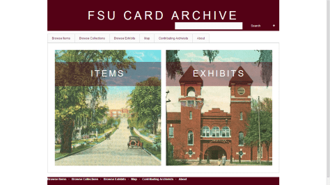 Click to explore the FSU Card Archive