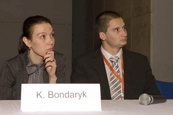 Katarzyna Bondaryk i Jakub Adamski