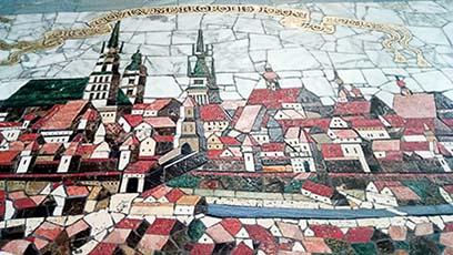 Mozaika w Pałacu Czeczotka