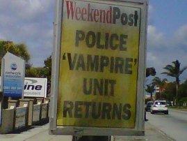 Vampire Cops
