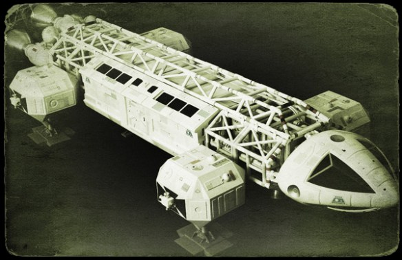 The Eagle Transporter from Gerry Anderson's 'Space 1999'