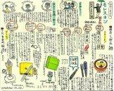 モレスキン絵日記(まめさんぽ、という散策イベントを実施。銀座の文具店めぐり)