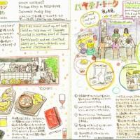 モレスキン絵日記(ハヤテノ・トーク札幌)