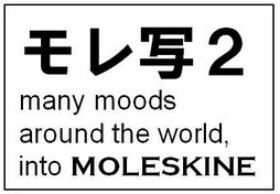 (展示企画への参加)旅する写真展α MOLESKINE写真展2